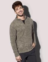 Active Melange Fleece Jacket