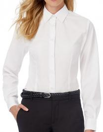 Poplin Shirt Smart Long Sleeve / Women